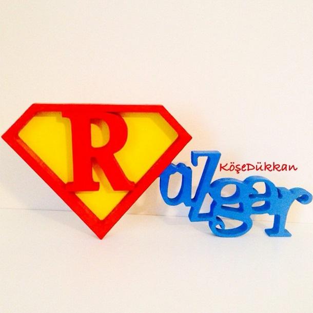 Rüzgar'ın superman konseptli doğum günü için hazırız